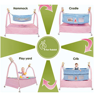 R For Rabbit Cradle 'N' Crib